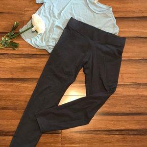 Crop leggings, size medium